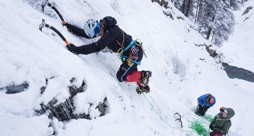 Ice climbing course for Beginners