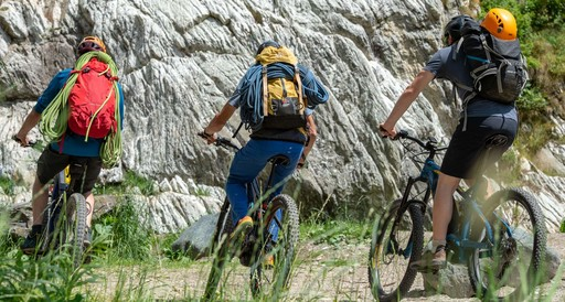 E-Bike and Via Ferrata