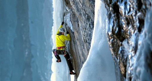 Ice climbing course for advanced Climbers