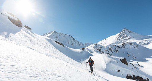 Ski traverse Hoch Tirol South