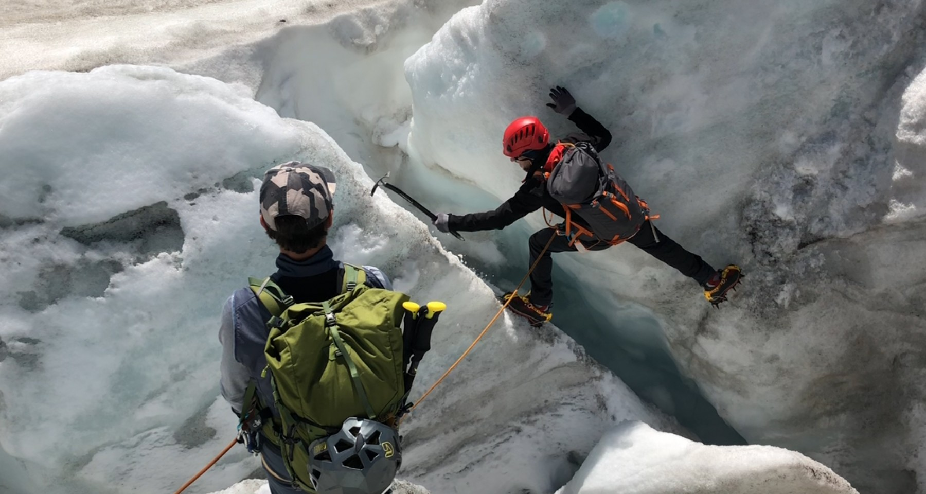 Glacier travel course with an ascent of Grossglockner