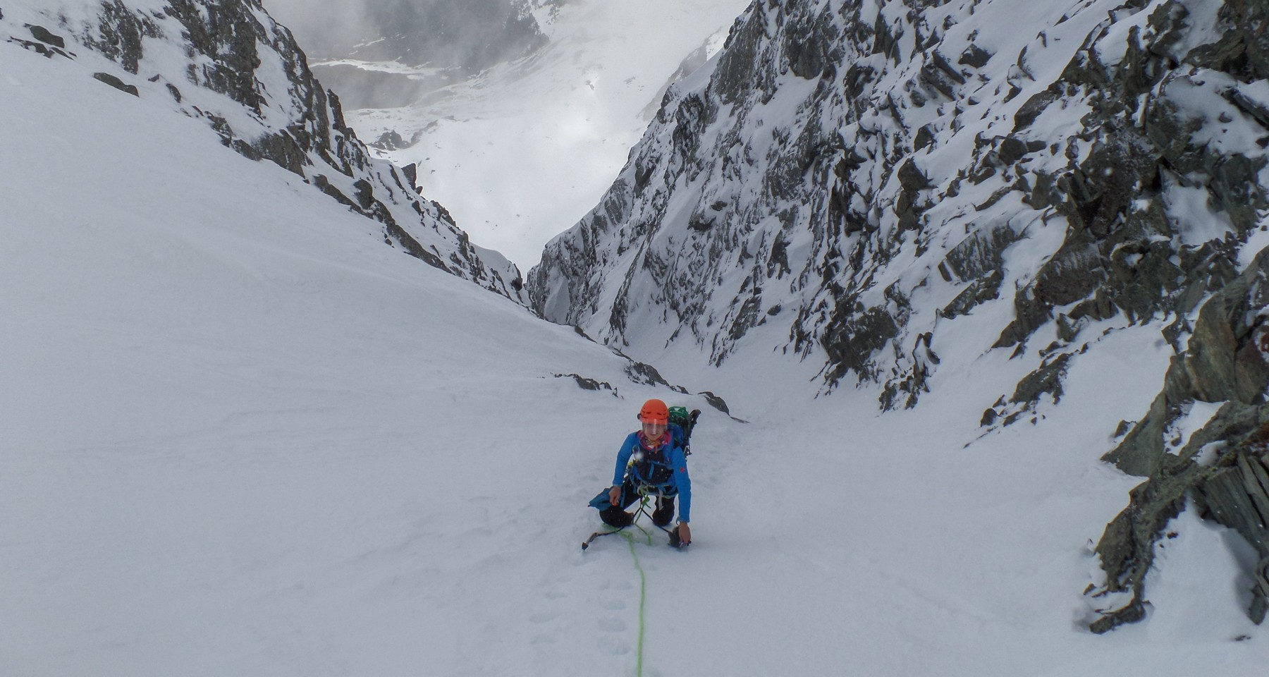 Prijakt North Couloir